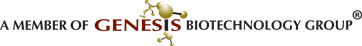 A Member of Genesis Biotechnology Group